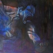 """The haunting memories of a lost paradise (Oil on Canvas 36"""" x 60"""")"""