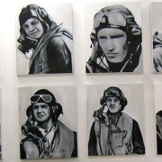 """Pilots of the Battle of Britain (Oil on Canvas 16"""" x 20"""")"""